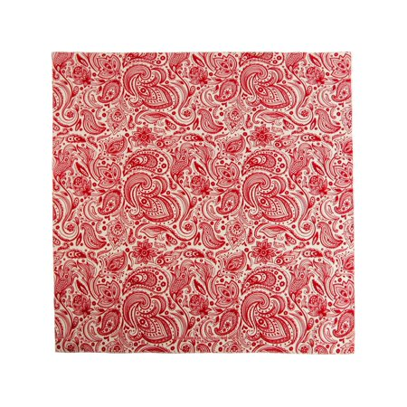 English Paisley Print Bandana](Red Pirate Bandana)