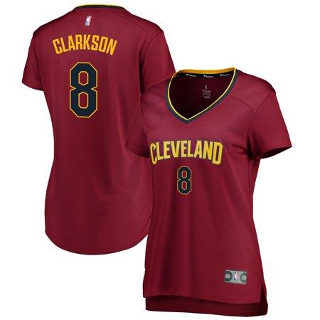 hot sale online 936ff 0e38c Jordan Clarkson Cleveland Cavaliers Fanatics Branded Women's Fast Break  Replica Jersey Wine - Icon Edition