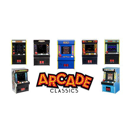 Arcade Classics - Handheld Arcade Game Collection