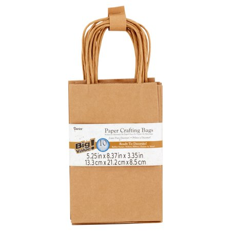 Darice Paper Crafting Bags, 10 Count