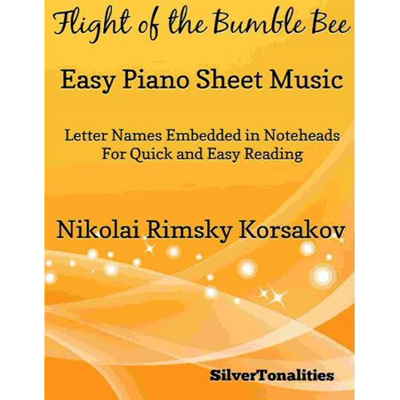 Flight of the Bumble Bee Easy Piano Sheet Music - (Flight Of The Bumblebee Piano Sheet Music Easy)