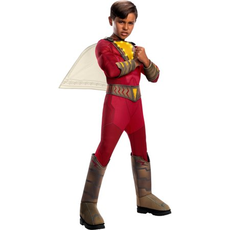 Rope Light Halloween Costume (Halloween Shazam Deluxe With Lights Child)