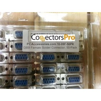 pc accessories - db9 female d-sub solder type connector,