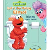 Lets Go Potty Elmo (Board Book)