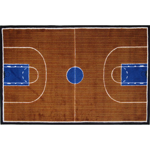 Fun Rugs Supreme Basketball Court Kids Rug