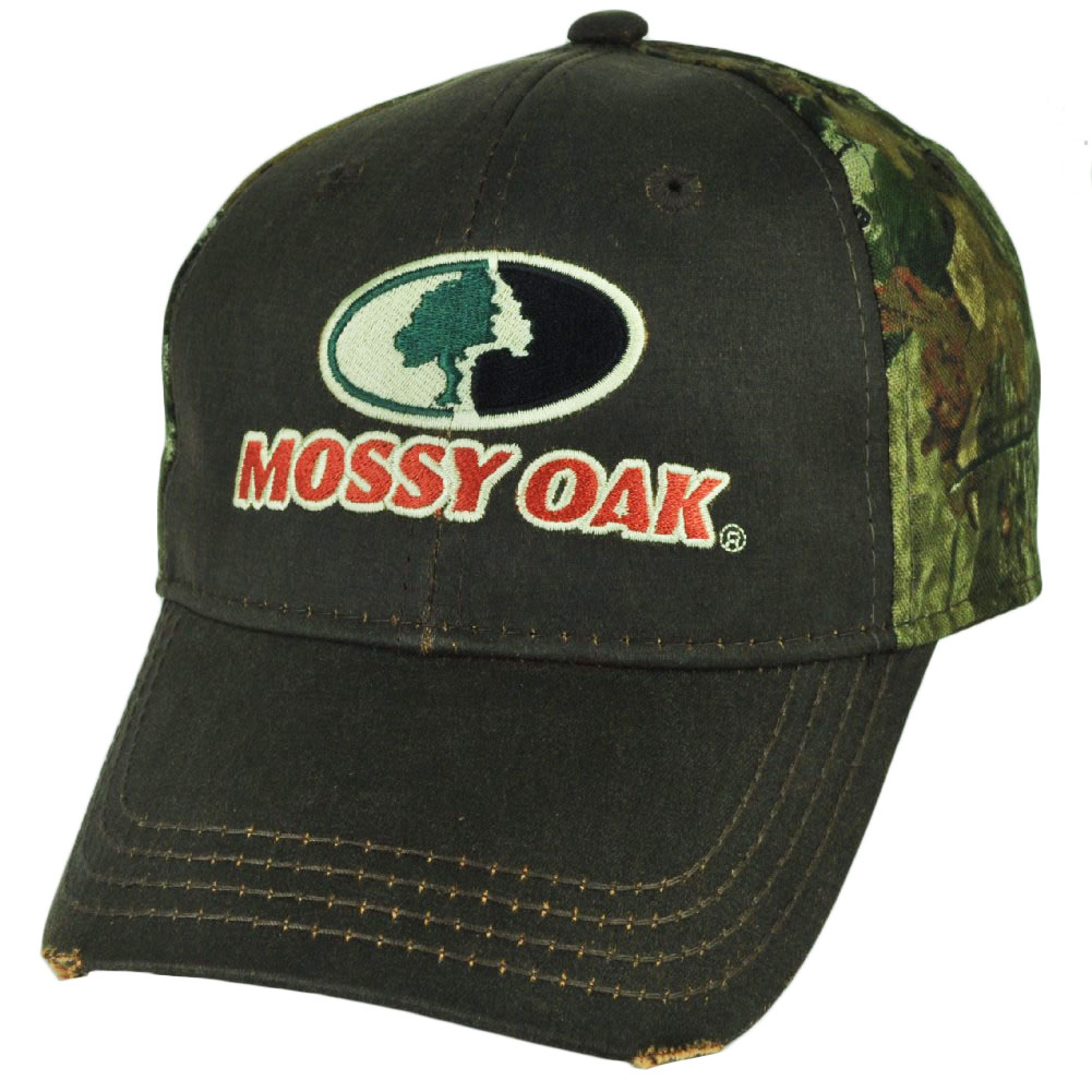 Mossy Oak its Not A Passion Its An Obsession Distressed Camouflage Hunt Hat Cap