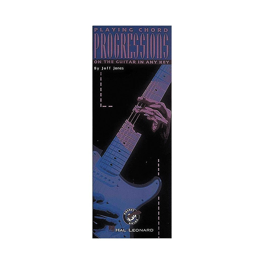 Hal Leonard Playing Chord Progressions On The Guitar In Any Key Book by Hal Leonard
