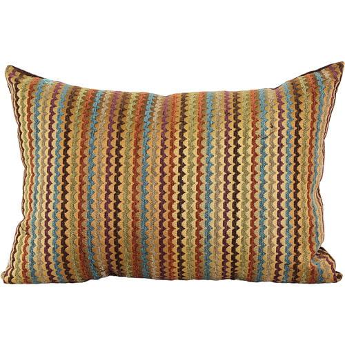 Better Homes and Gardens Mini Zig Zag Oblong Pillow