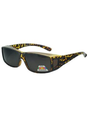 6b2d669c4c1 Product Image Polarized Wear Over Sunglasses Square Fit Glare Blocking for  Prescription Glasses