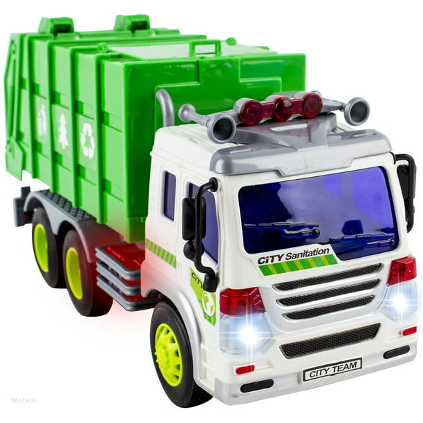 Garbage Truck Toys For 3 Year Old Boys And Girls Friction Powered Toy Cars For Toddlers Walmart Com Walmart Com