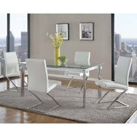 Chintaly Tara 5-Piece Dining Room Set with Jade Chairs