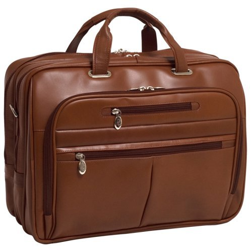 Fly-Through Laptop Case in Brown (Black)
