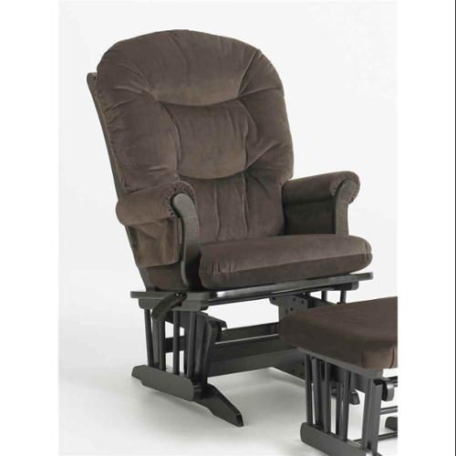 ULTRAMOTION by Dutailier Sleigh GliderReclinerMultiposition Chair in Espresso and Chocolate
