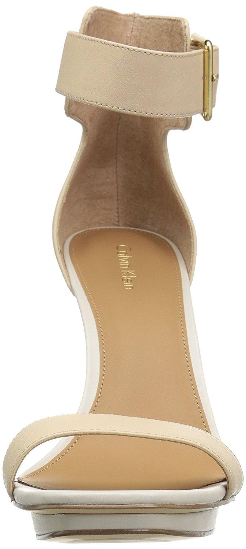 calvin klein vable platform sandal