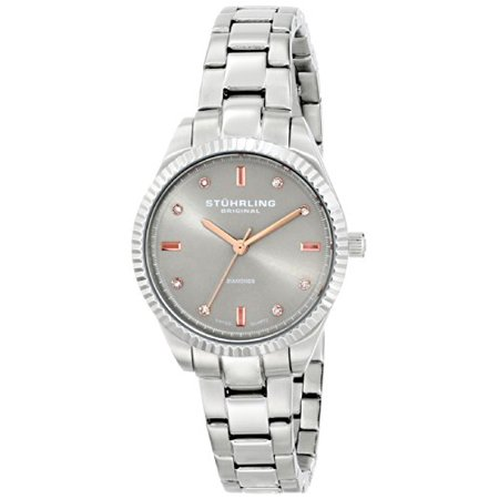 - Women's 607L.03 Symphony Allure Stainless Steel Watch with Diamonds