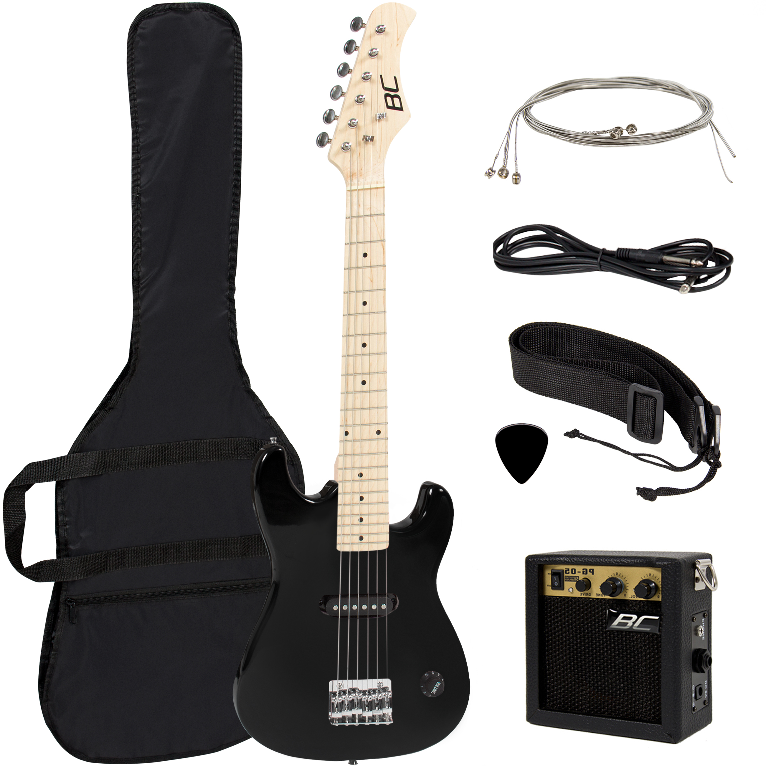 "Best Choice Products 30"" Kids Electric Guitar Kit w  5W Amp (Black) by Best Choice Products"