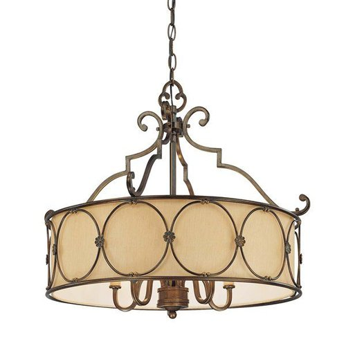 Minka Lavery 4236-288 5 Light Chandelier In Deep Flax Bronze