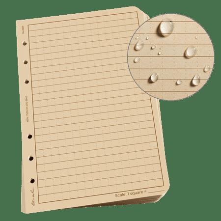 Rite in the Rain Weatherproof Loose Leaf Paper, 4.625