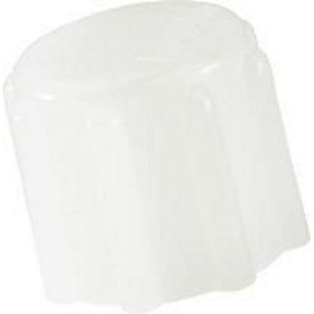 Decannulation Cap Universal Tracheostomy Tube ''15 mm, White, 1 (Parts Tracheostomy Tube)