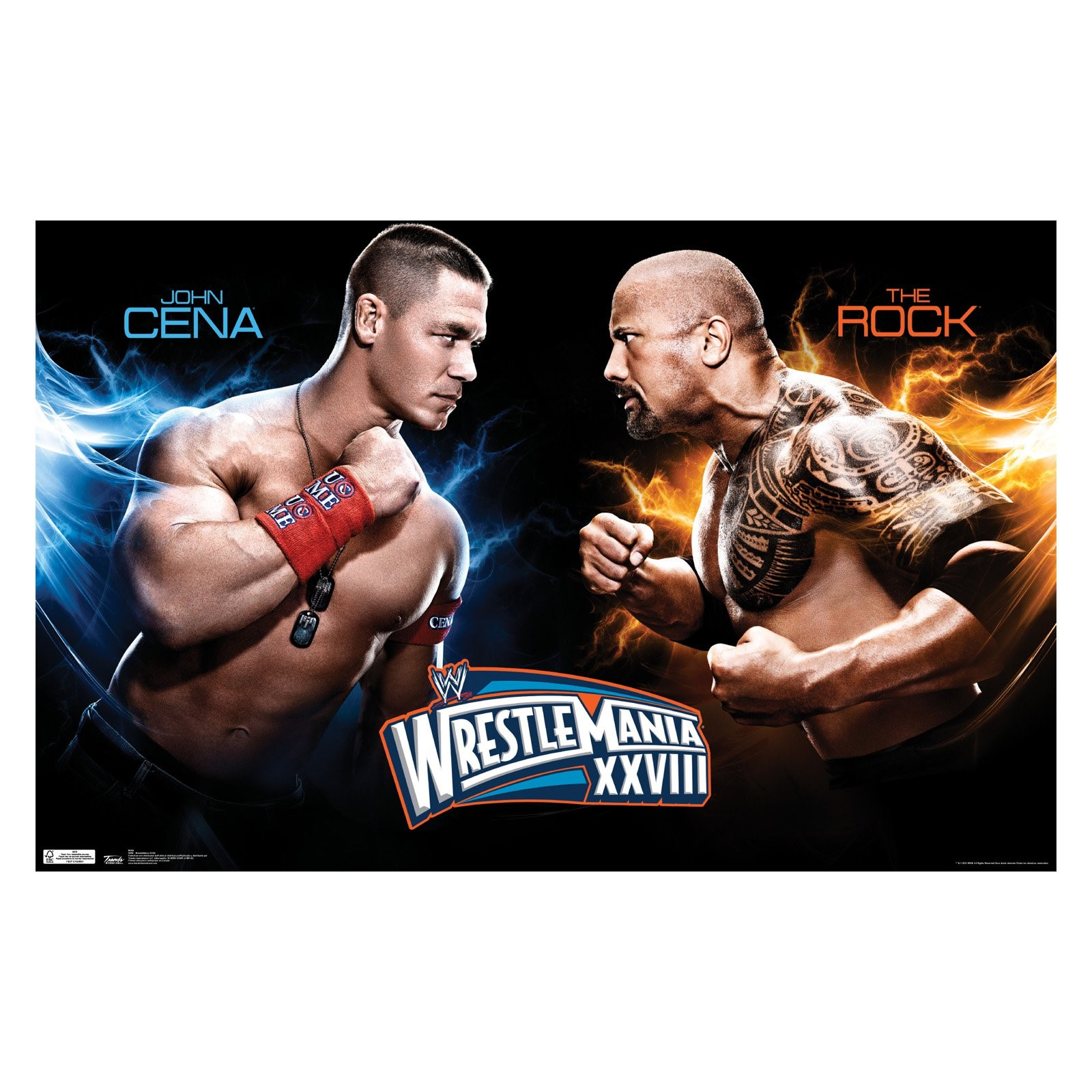 "Trends International WWE Wrestlemania XXVIII Wall Poster 22.375"" x 34"""