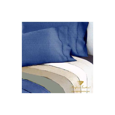 Bundle-33 Highland Feather Versaille 300 Thread Count Sateen Drop Fitted Sheet