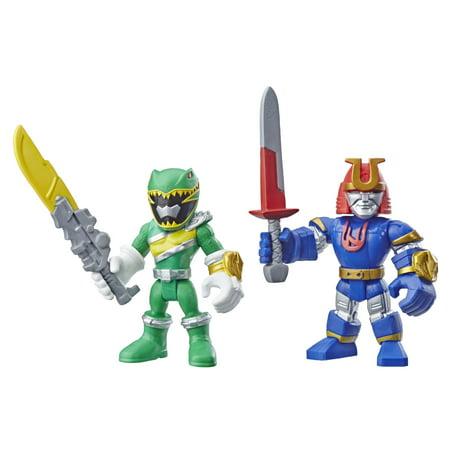 Playskool Heroes Power Rangers Green Ranger and - Green Rpm Ranger