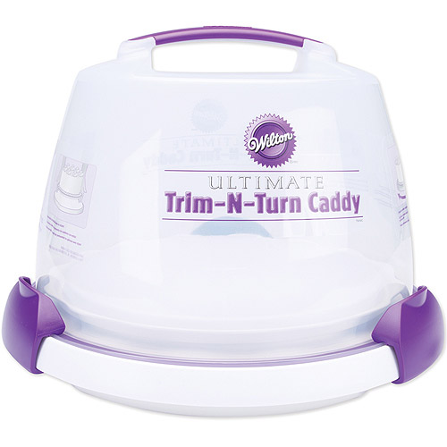 "Wilton Triim-N-Turn 12"" Ultimate Cake Decorating Turn Caddy 2105-0474"