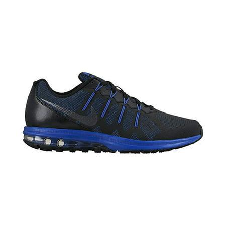 Nike Men's Air Max Dynasty Running Shoe, BlackRacer Blue, 10 D(M) US