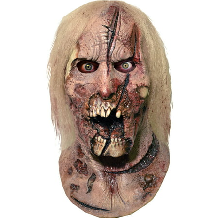 Walking Dead Deer Walker Latex Mask Adult Halloween Accessory