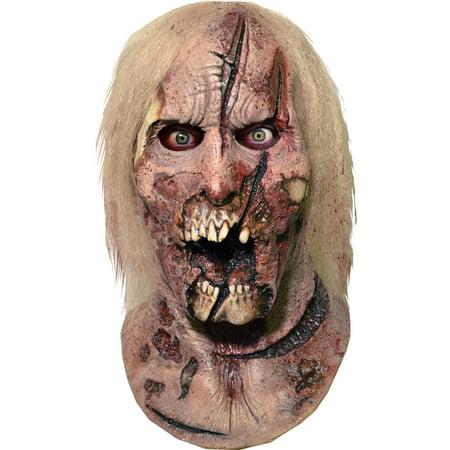 Walking Dead Deer Walker Latex Mask Adult Halloween - Halloween Walking Dead