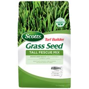 Scotts Turf Builder Grass Seed Tall Fescue Mix, 3 lb., Seeds up to 750 sq. ft.