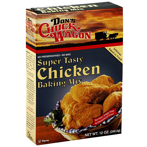 Don's Chuck Wagon Chicken Baking Mix, 12 oz  (Pack of 6)