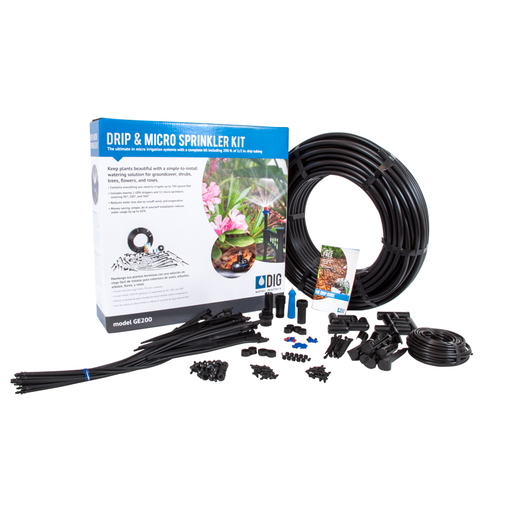 DIG Drip and Micro Sprayer Irrigation Kit