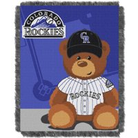 Colorado Rockies The Northwest Company 36'' x 46'' Baby Jaquard Throw - No Size