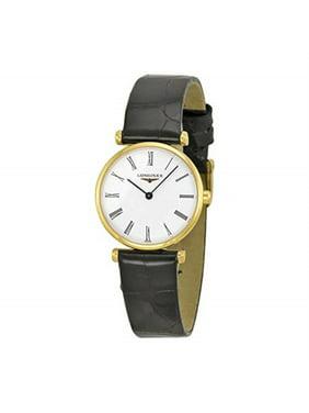 Longines La Grande Classique Yellow Gold PVD Ladies Watch L4.209.2.11.2