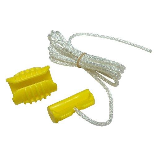 Grabbit Tool Company MGT8PY Mini Grabbit 1.5-inch Tarp Tie Down Canary Yellow 8 Pack