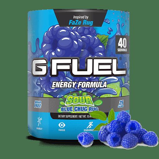 G Fuel Sour Blue Chug Rug Tub, Elite