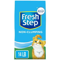 Fresh Step Non-Clumping Premium Cat Litter with Febreze Freshness, Scented (Multiple Sizes)