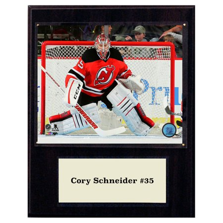 brand new 14dd4 0e11c C&I Collectables NHL 12x15 Cory Schneider New Jersey Devils Player Plaque