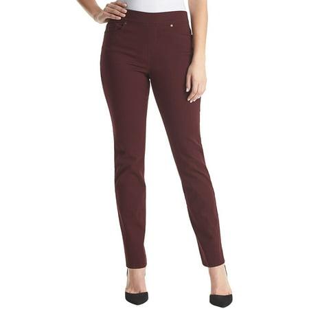 d1a6e16f6 Gloria Vanderbilt - Gloria Vanderbilt Avery Pull-On Straight Leg Jeans -  Walmart.com