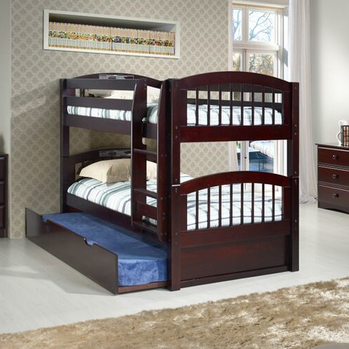 Camaflexi Camaflexi Twin Bunk Bed with Storage