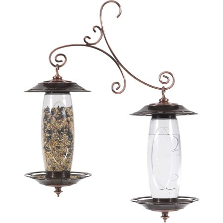 Perky-Pet Garden Sip and Seed Wild Bird Feeder