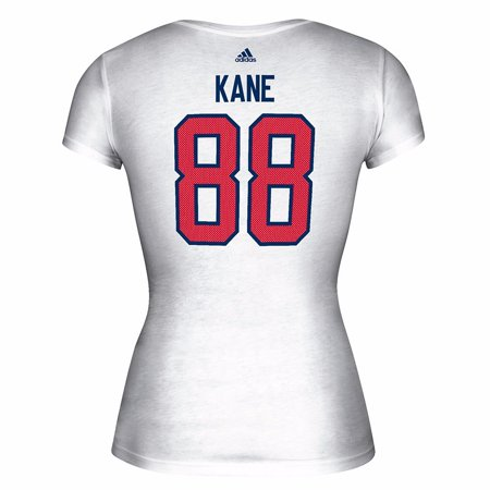 Patrick Kane USA NHL Adidas White 2016 World Cup of Hockey Player Name & Number Jersey T-Shirt For Women