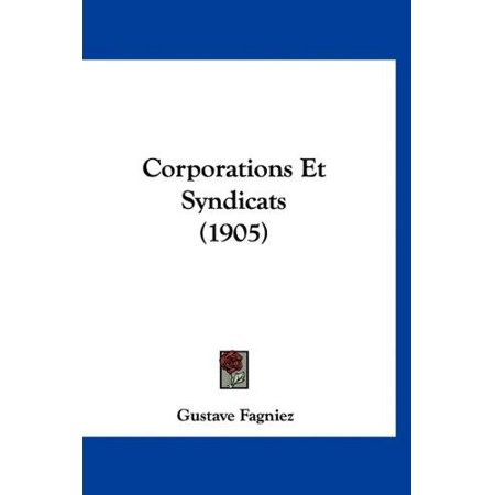 Corporations Et Syndicats (1905) - image 1 of 1