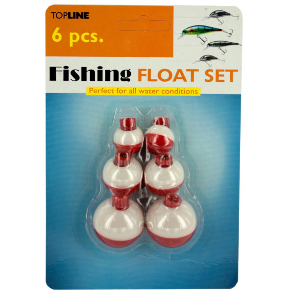 Fishing Bobber Floats Set (Pack Of 24) by Bulk Buys