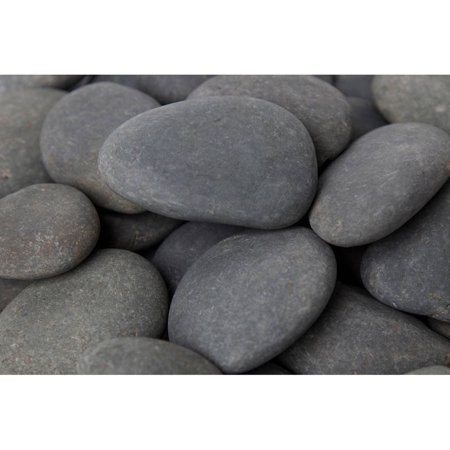 Q-link Silver Pebble - Margo 30 lb Mexican Beach Pebble, 3
