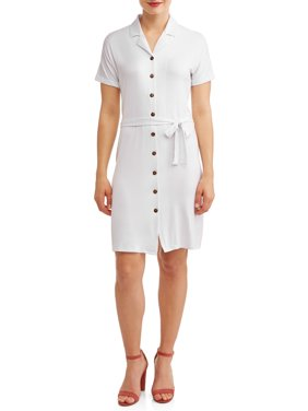 c6b6f2943e3f Product Image Women's Tort Button Shirt Dress
