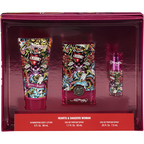 Ed Hardy Hearts & Daggers Gift Set for Women