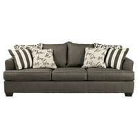 Signature Design by Ashley Levon Queen Sofa Bed, Gray