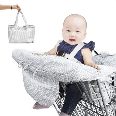 Grtxinshu Foldable Portable Toddler Shopping Cart Covers Baby Shopping Trolley Cart Seat Pad & High Chair Cover Protector with Safety Harness Package Included: 1 x Shopping Trolley Cover Type 1 Specification: Product Name: shopping trolley cover Model:722886 Size: 39x28.5x18.5cm /15.3''x11.2''x7.28'' Color: White Pattern:Trees Material: Polyester Suitable For: Shopping Trolley, High Chair Type 2 Specification: Product Name: shopping trolley cover Model: 677839 Size: 65x17x23cm Color: Gray Pattern: Stripe Material: Polyester Suitable For: Shopping Troller, High Chair Type 3 Specification: Product Name: shopping Trolley cover shopping cart cover Model:919542 Color:multicolor Material: Polyester Installation size:50x40x22cm/19.6x15.7x8.66 Suitable For: shopping troller, high chair Note: -Please allow a little differs due to manual measurement.